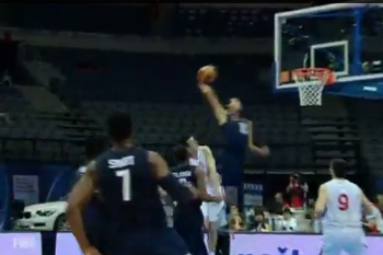 Aaron Gordon Gives Us a Glimpse of His Hops vs. Serbia (VIDEO)