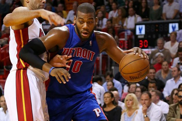 Would Pistons Deal Greg Monroe for Rajon Rondo?