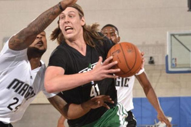 Olynyk Dazzling in Debut for Celtics