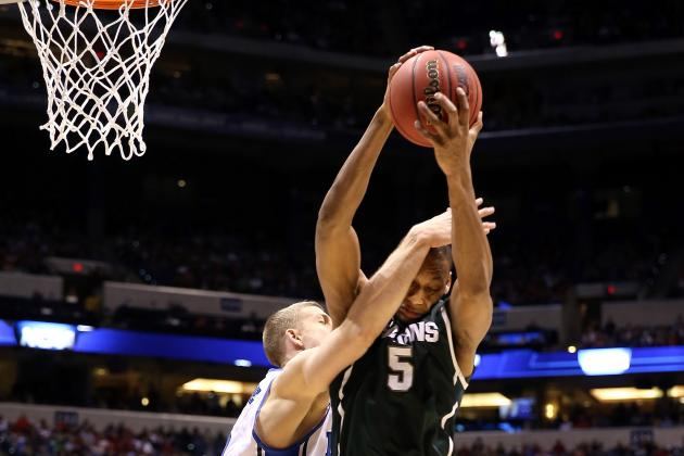 MSU's Adreian Payne Helps USA Beat Czech Republic
