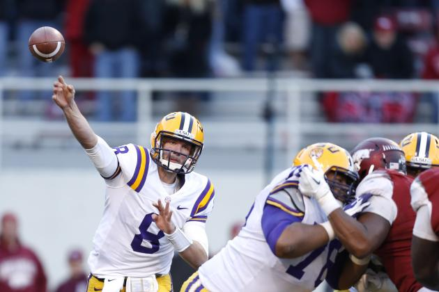 LSU's Zach Mettenberger on Maxwell Award Watch List