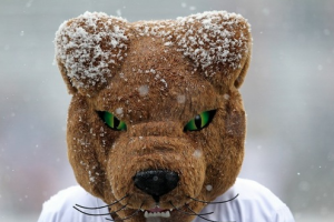 "Report: Pitt's Mascot Tells Mike Brey That Dixon Hates ND's ""Burn Offense"""