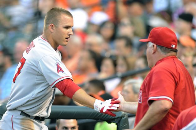 Scioscia Against Trout Taking Part in Derby