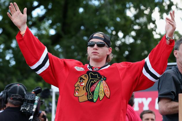 Summer Assignment- What Is Patrick Kane's 2013 Grade?
