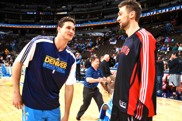 Knicks' Andrea Bargnani Gets Advice On How to Survive New York