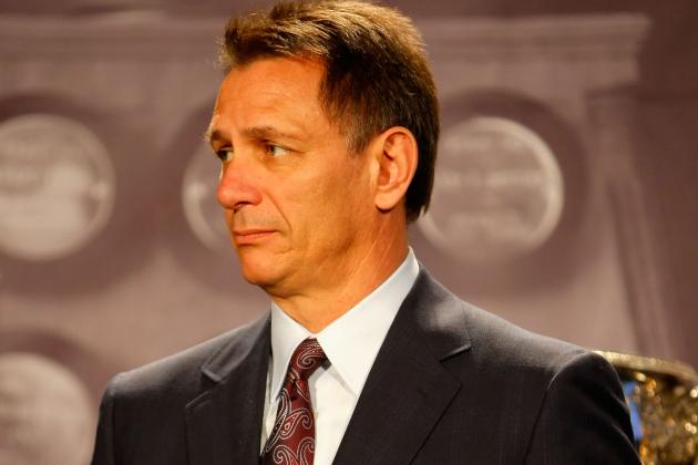 Glut of Forwards Doesn't Worry Red Wings GM Ken Holland