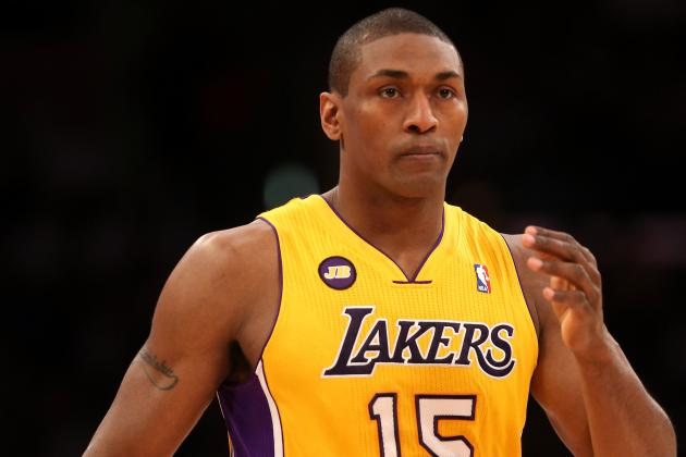 It's Officially Time for Lakers to Bite Bullet and Amnesty Metta World Peace