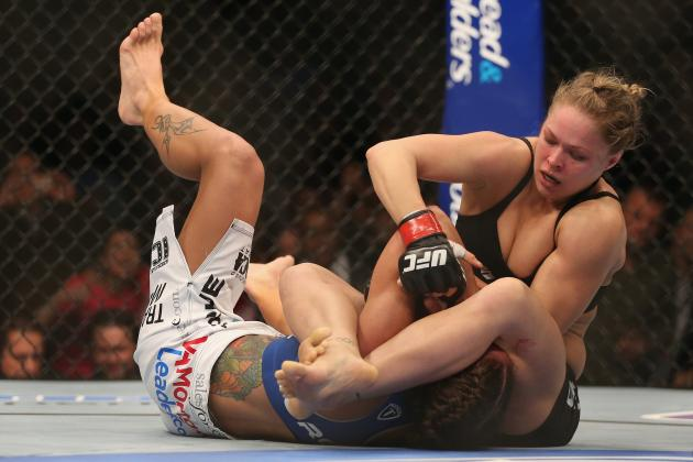 Ronda Rousey: Not Expecting Thanks from Competitors as Women's MMA Grows in UFC