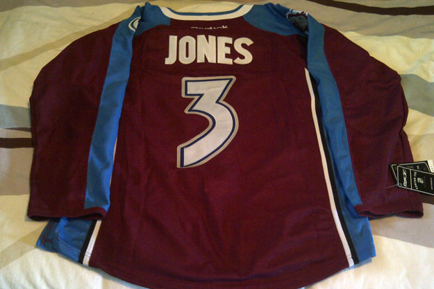 Avs' Seth Jones Jersey Being Sold on Ebay
