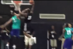 Shawn Marion Gets Dunked on at Pro-Am Game