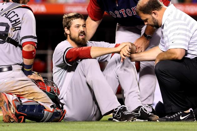 Andrew Miller Has Ligament Damage in Foot