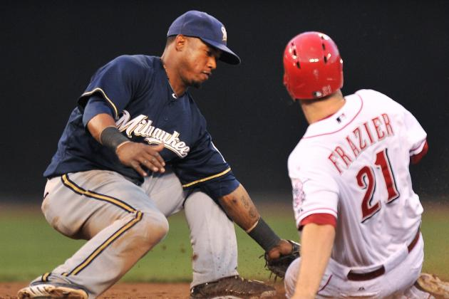ESPN Gamecast: Reds vs. Brewers