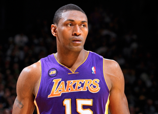 Metta World Peace Amnestied by Los Angeles Lakers