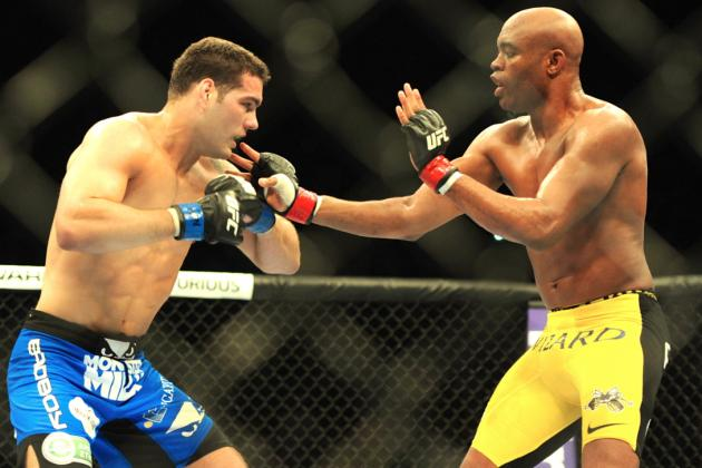 Chris Weidman vs. Anderson Silva II Could Replace Rousey vs. Tate at UFC 168