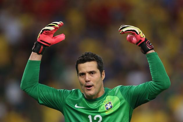 Brazilian Goalkeeper Julio Cesar Reportedly Set to Sign for Napoli