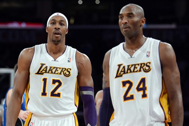 Kobe Bryant Gives Back-Handed Words of 'Support' to Dwight Howard