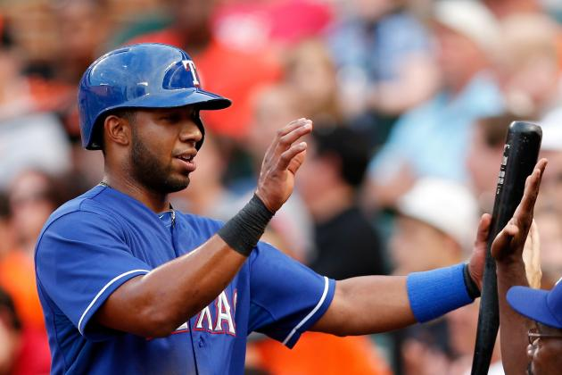 Overlooked Hit by Elvis Andrus Key in Rangers' Win