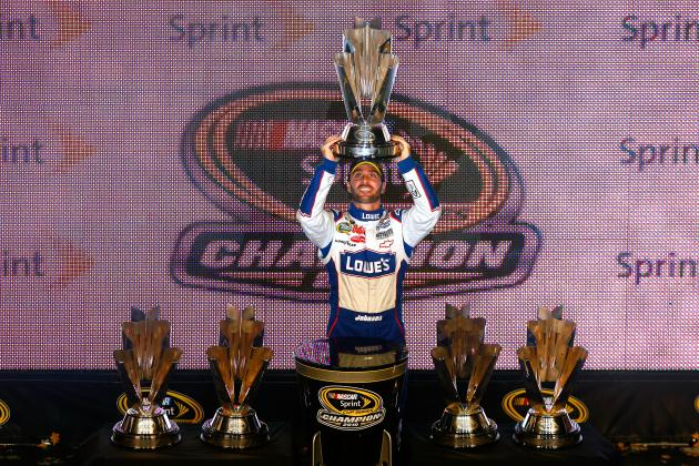 Statistics Say Jimmie Johnson Will Be 2013 Sprint Cup Series Champion
