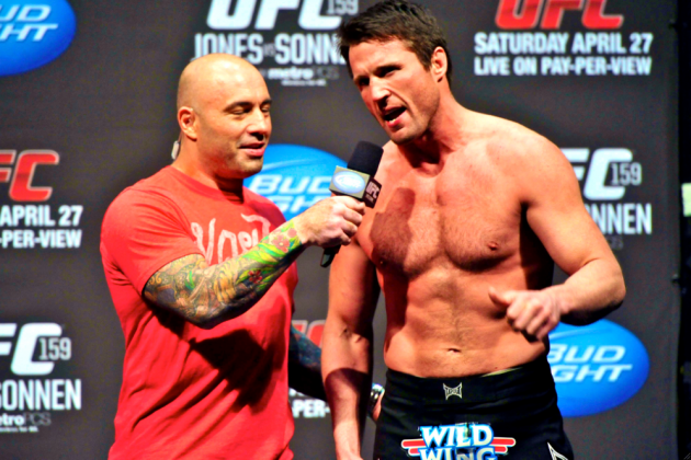 Chael Sonnen Runs Down a List of Demands for His Next UFC Contract