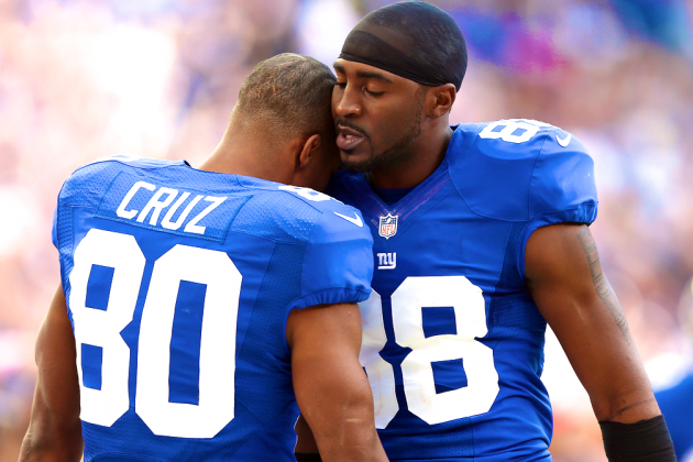 What Does Victor Cruz's Extension Mean for Hakeem Nicks?