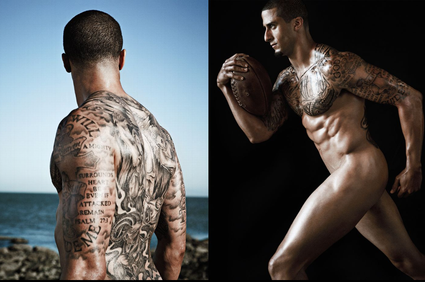 Colin Kaepernick's ESPN Body Issue 2013 Cover and Photos ...