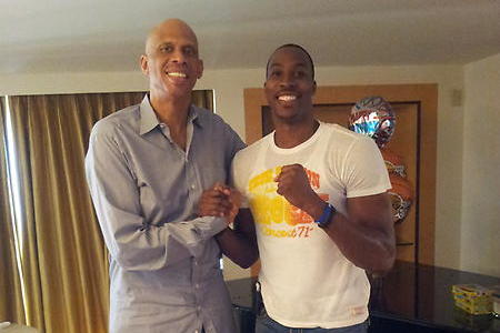 Kareem Abdul-Jabbar Jabs at Dwight Howard's Potential in Houston