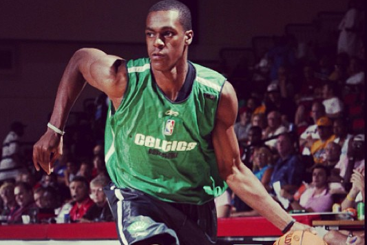 Image: Rondo Playing in 2006 Summer League