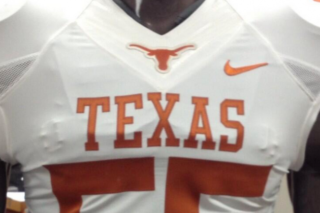 Texas' Equipment Twitter Account Tweets out New Photos of Both..