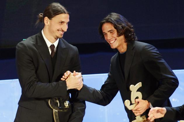 How Edinson Cavani and Zlatan Ibrahimovic Would Work Together at PSG