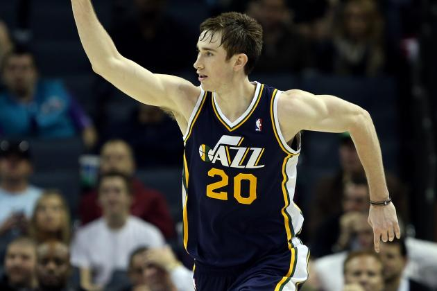 Utah Jazz: Gordon Hayward Drops in to Visit 'Young' Jazz Guys