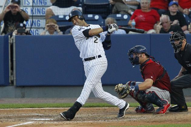 Projecting Derek Jeter's 2nd-Half Yankees Impact, by the Numbers