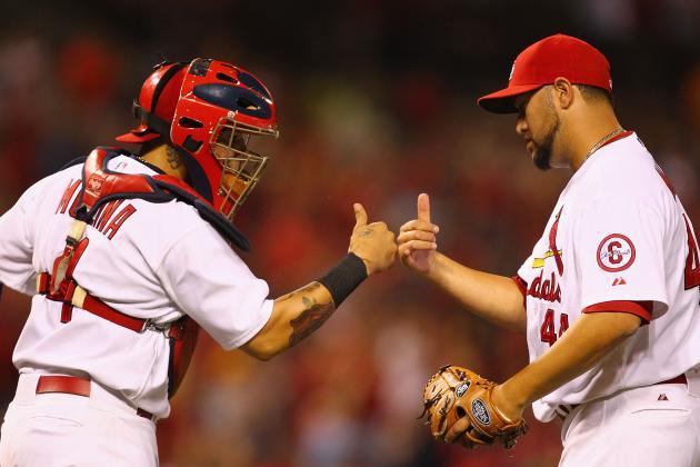 Yadier Molina Returns vs. Astros