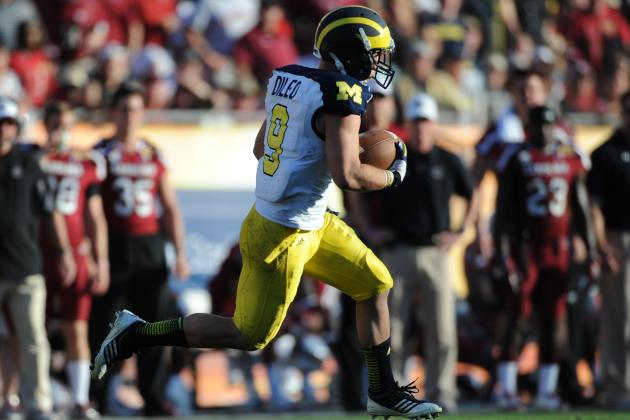 Despite Progress, Michigan Wolverines WR Drew Dileo Could Blend in During 2013