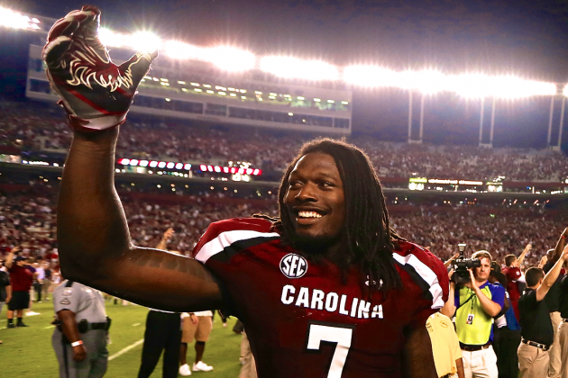 Could Jadeveon Clowney Really Win Both Maxwell and Bednarik Awards in 2013?