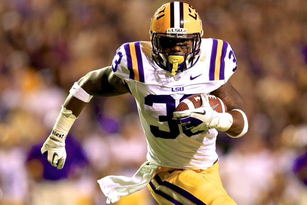 LSU Offense Will Be Fine with or Without RB Jeremy Hill in 2013