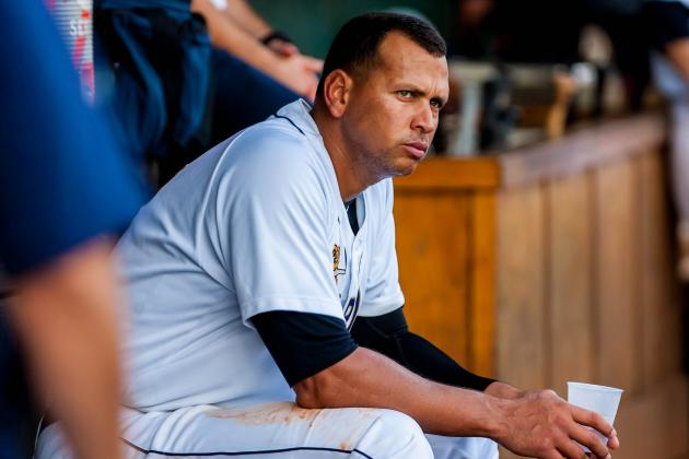Updating Grades, Twitter Reaction for A-Rod's Ongoing Rehab