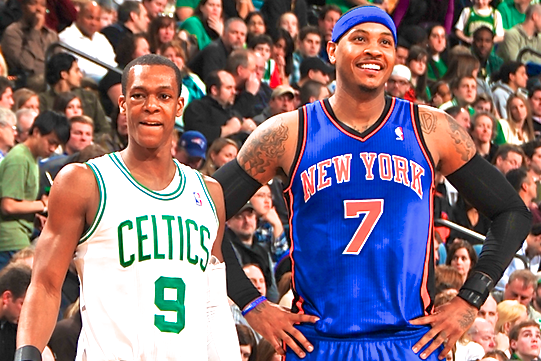 Carmelo Anthony Reportedly Wanted Rajon Rondo on NY Knicks