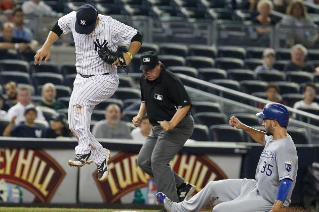 Royals Send Yankees to Third Straight Defeat