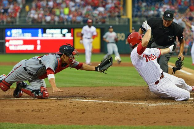 Hamels Wins 2nd Straight as Phils Beat Nats