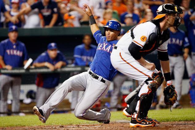 Rangers 8, Orioles 4