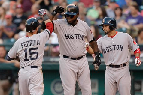 Ortiz's Big Night Helps Push Red Sox Past Mariners
