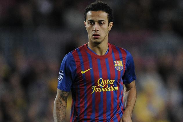 Thiago Alcantara Begins Pre-Season Training with Barcelona