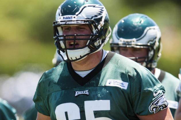Eagles Lane Johnson Says He Doesn't Want to Hold out