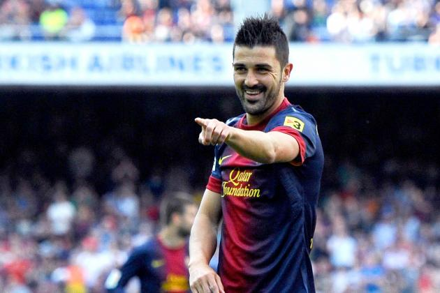 Summer Signings: David Villa Arrives at Atletico Madrid with Fantastic Future