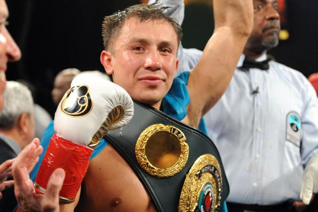 Golovkin Gives Canelo a Shot Early in the Fight, Still Expects a Boring Bout