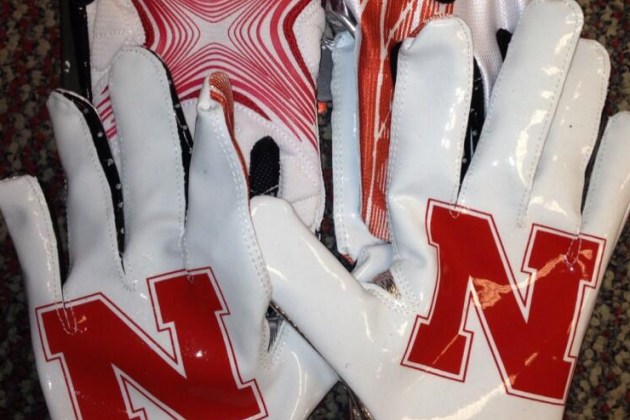 Photo: Nebraska's Equipment Twitter Handle Unveils New Football Gloves