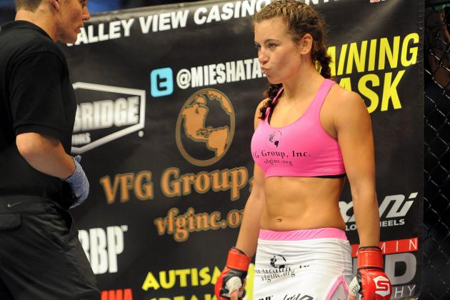 Two More Miesha Tate Photos from ESPN The Magazine's Body Issue Revealed