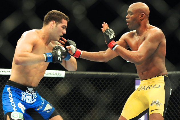 Anderson Silva Reportedly Wants Rematch With Chris Weidman in 2013