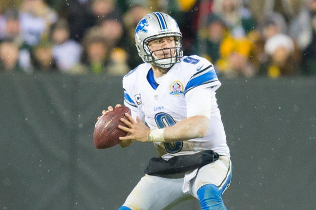 Rodgers Likely Set Bar for Stafford's Monster Extension