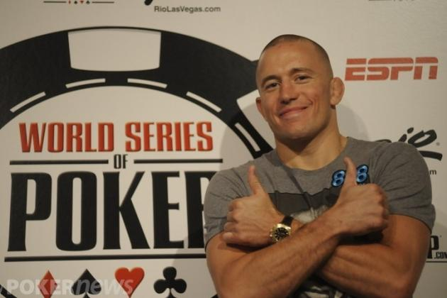 Georges St-Pierre Knocked out of World Series of Poker (WSOP) 2013 in Las Vegas